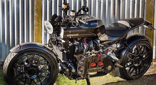 Marcel van Hooijdonk en zijn passie voor motoren